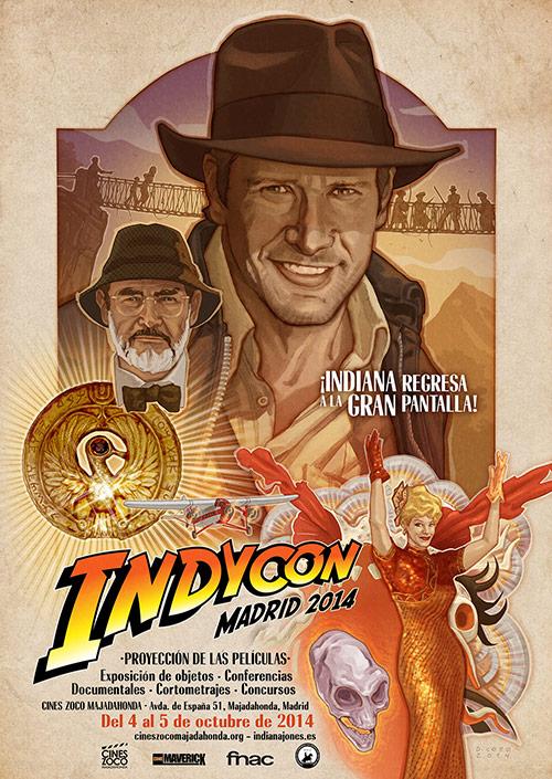 indycon madrid 2014 cartel