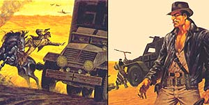 Bocetos de Jim Steranko