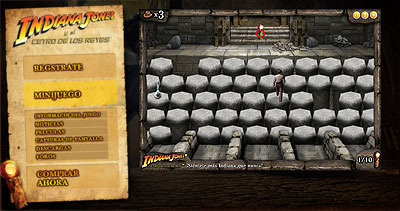Web Activision Indiana Jones