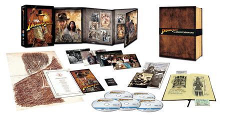 Pack coleccionista UK bluray Indiana Jones