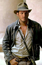 chriss Pratt como Indiana Jones