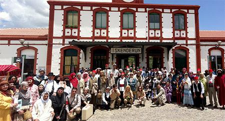 Foto de grupo en Iskenderun