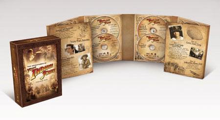 Pack DVD Joven Indiana Jones