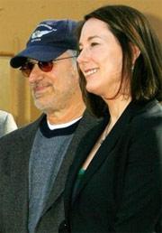 Kathleen Kennedy y Spielberg