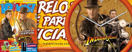 Reloj Indiana Jones