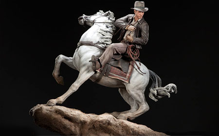 shideshow estatua Indy Caballo