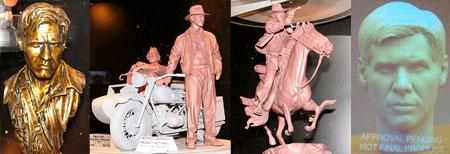 Esculturas de Indiana Jones